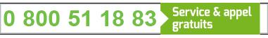 Numéro vert Gare routière de Toulouse (Guichet d'informations)