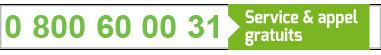Numéro vert Chèque Solidarité 31 (Dispositif CÉSU)
