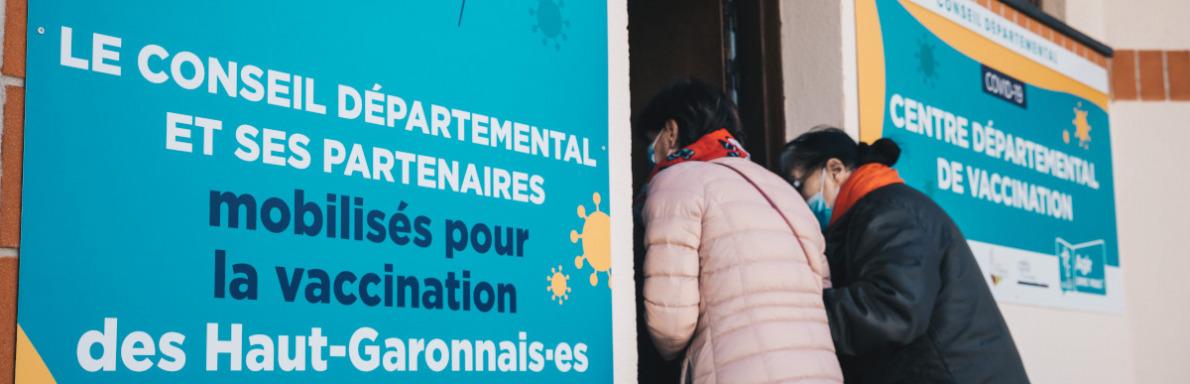 Ouverture du centre de vaccination de Villefranche de Lauragais